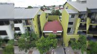Rumah 'Up' di Brisbane, Australia. (Drakos Real Estate/ Daily Mail)