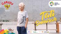 Garuda Kita, Tati Sumirah. (Bola.com/Dody Iryawan)
