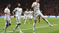 Gelandang Real Madrid, Toni Kroos (OZAN KOSE / AFP)