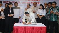 Pendirian yayasan BUMN hadir untuk negeri (Foto: Dok Kementerian BUMN)