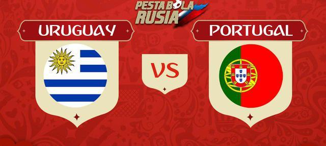 Berita video head-to-head Piala Dunia Rusia 2018: Uruguay vs Portugal.