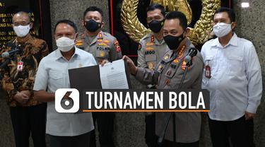 Polri resmi memberi izin pada Kemenpora dan PSSI untuk gulirkan turnamen pramusim.