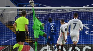 FOTO: 6 Fakta Menarik di Balik Kemenangan 2-0 Chelsea atas Real Madrid - Edouard Mendy