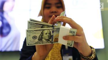 Rupiah Menguat Tipis atas Dolar