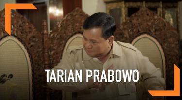 Prabowo Subianto sempat melakukan tarian saat tampil di debat capres lalu. Apa alasannya menari saat itu?