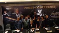David Foster jumpa pers bersama dengan Anggun dan Brian McKnight