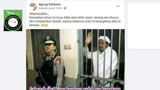 Cek Fakta Liputan6.com menelusuri klaim foto Ahok pakai seragam Polri