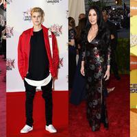 Celine Dion, Justin Bieber, Cher, dan Nick Cannon (Bintang/EPA)