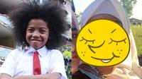 5 Potret Zsa Zsa 'Si Cemong' Pakai Hijab, Dipuji Netizen Cantik   (sumber: Merdeka.com dan Instagram.com/nadyaarina)