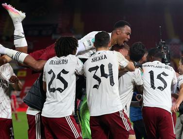 Singkirkan Liverpool, Arsenal Tembus Perempat Final Piala Liga Inggris