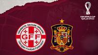Kualifikasi Piala Dunia 2022: Georgia Vs Spanyol. (Bola.com/Dody Iryawan)