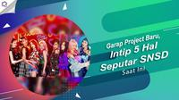 Yuk, simak 5 hal tentang SNSD saat ini yang juga bakal menggarap sebuah project baru. (Foto: Twitter/GirlsGeneration, Desain: Nurman Abdul Hakim/Bintang.com)