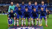 Bek Chelsea, Antonio Rudiger, menyebut timnya bakal bermain lepas dan tanpa tekanan melawan Bayern Munchen. (AFP/Ben Stansall)