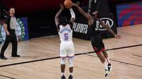 James Harden bantu Rockets Lolos ke Semifinal Wilayah Barat NBA lewat blok penting (AP)