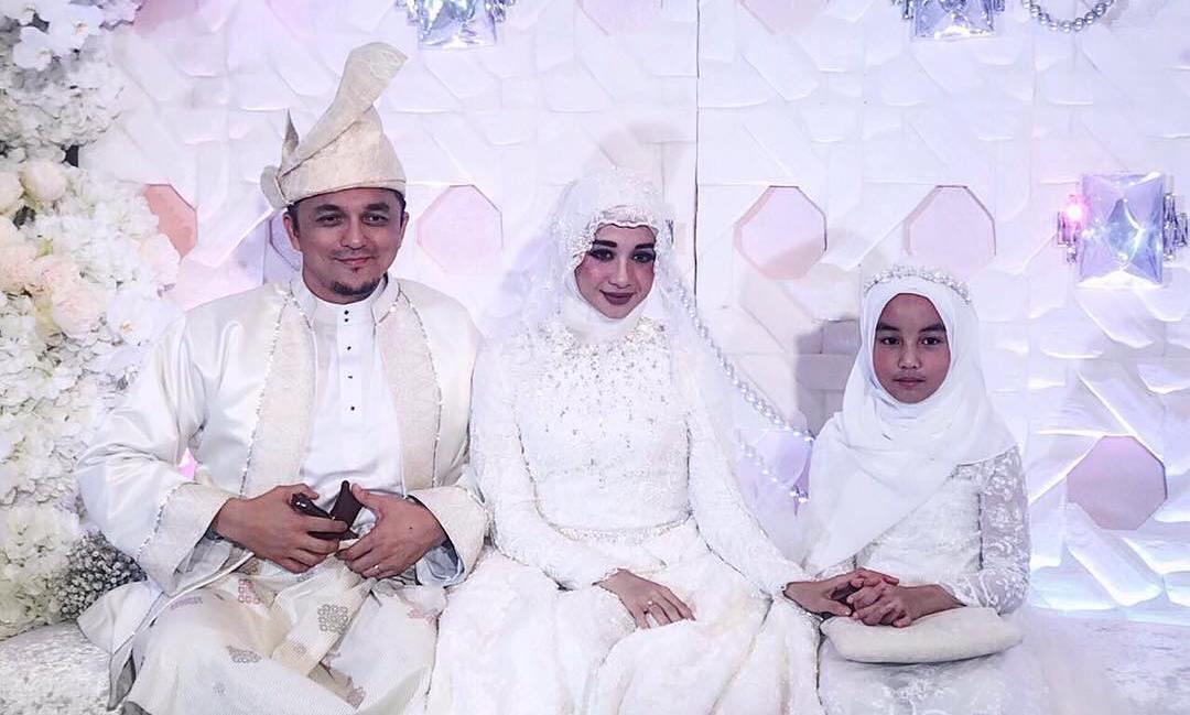 Laudya Cynthia Bella dan Engku Emran menikah [foto: instagram]