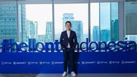 CEO NTT Indonesia, Hendra Lesmana, saat dijumpai di Jakarta, Kamis (20/2/2020). (Liputan6.com/ Agustinus Mario Damar)