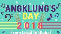 Mau wisata ke Bandung? Yuk seru-seruan di Angklung's Day 2018.
