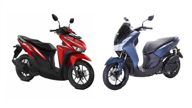 Adu Kemampuan Yamaha Lexi Dan Honda Vario 125 Siapa Unggul Otomotif Liputan6 Com