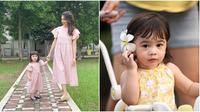 Potret Cantik Raqeema Anak Nabila Syakieb. (Sumber: Instagram/nsyakieb85)
