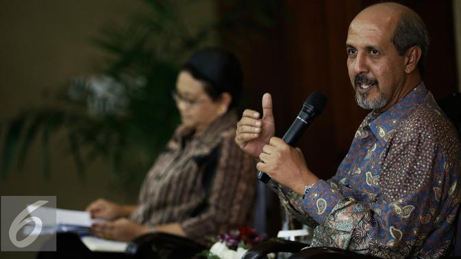 Wakil Tetap RI untuk PBB di Jenewa, Duta Besar Hasan Kleib. (Liputan6.com/Faizal Fanani)