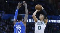 Jayson Tatum jadi bintang kemenangan Celtics atas Thunder (AP)