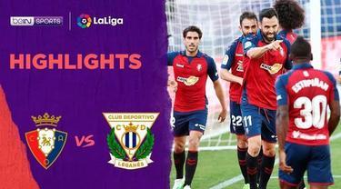 Berita Video Highlights La Liga, Gol Telat Enric Gallego Bawa Osasuna Menang Lawan Leganes 2-1