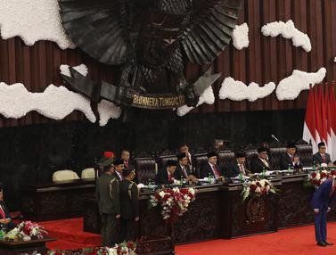 Jokowi Sampaikan Pidato Kenegaraan
