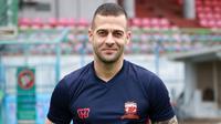Striker baru Madura United, Aleksandar Rakic. (Bola.com/Aditya Wany)