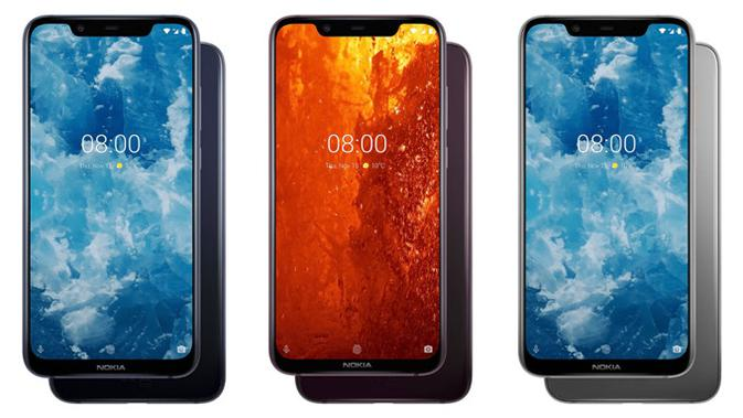 Varian warna Nokia 8.1. (Doc: HMD Global)