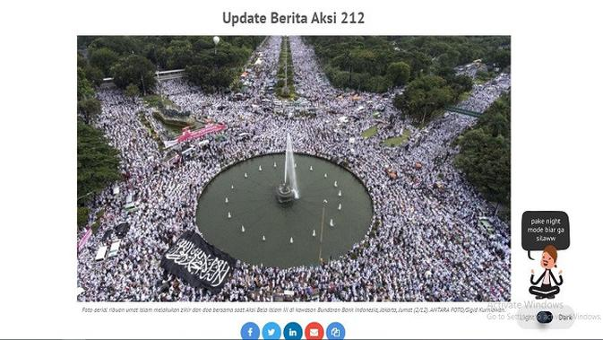 Gambar Tangkapan Layar Artikel dari Situs tirto.id