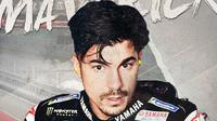 Pebalap MotoGP: Maverick Vinales. (Bola.com/Dody Iryawan)