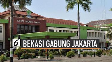 Wacana Bekasi gabung Jakarta tengah santer diperbincangkan. Bila terealisasi, diisukan nama Bekasi berubah jadi Jakarta Tenggara.