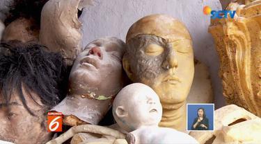 Pria lulusan sekolah dasar yang sempat hidup di jalanan ini sukses jadi seniman pembuat organ tubuh atau make up prostetik untuk film horor dan aksi.