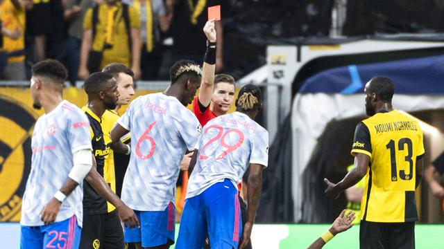 FOTO: Manchester United Kalah dari Young Boys di Liga Champions