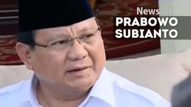 Ketua Umum Partai Gerindra Prabowo Subianto melakukan kunjungan balasan ke Presiden Joko Widodo atau Jokowi di Istana Merdeka.