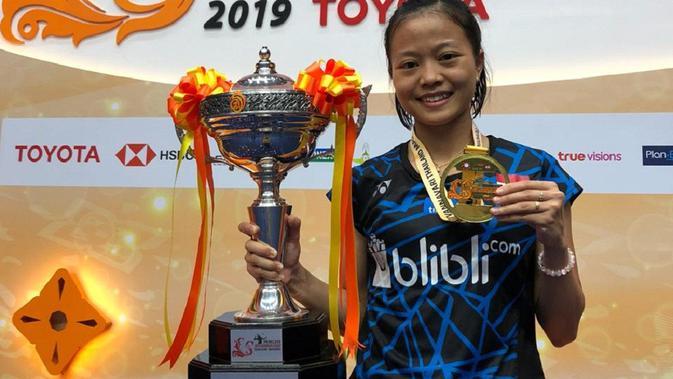 Resep Fitriani Juarai Thailand Masters 2019 - Ragam Bola.com