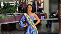 Wanita Berdarah Indonesia Jadi Finalis Miss Universe Great Britain. (dok.Instagram @sharongaffka/https://www.instagram.com/p/BydkdLrnkUP/Henry)