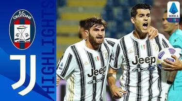 Berita video melihat Federico Chiesa menciptakan assist dan diganjar kartu merah dalam highlights Crotone imbang 1-1 melawan Juventus pada pekan keempat Liga Italia 2020/2021, Minggu (18/10/2020) dinihari WIB.
