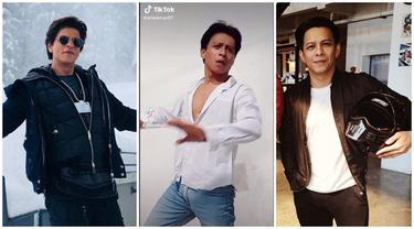 Video Pria 'Kembaran' Shah Rukh Khan Viral, Netizen Justru Sebut Mirip Ariel NOAH
