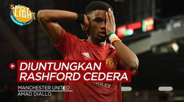 Berita video spotlight kali ini membahas tentang deretan pemain Manchester United yang mendapatkan keuntungan dengan cederanya Marcus Rashford.