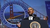 Presiden AS Barack Obama. (Reuters/Kevin Lamarque)