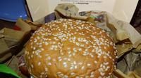 Varian baru Whopper dari Burger King. (Liputan6.com.com/Dinny Mutiah)
