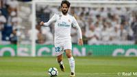 Isco Alarcon akan bertahan di Real Madrid hingga 2022. (doc. Real Madrid)