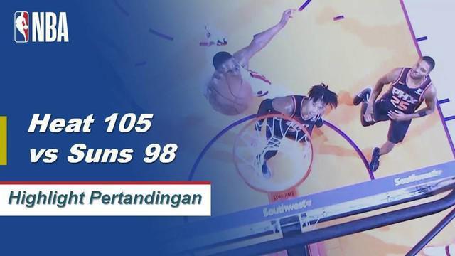 Justise Winslow memimpin dengan 20 poin, delapan rebound dan enam assist melawan Suns, 115-98.