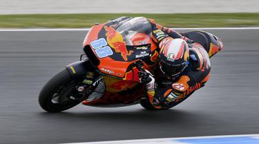 Pembalap Red Bull KTM Ajo, Jorge Martin.