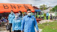 KNPI Jambi juga menggelar kegiatan Gerakan Masyarakat Hidup Sehat dengan mengadakan vaksinasi masal bertajuk 'Vaksinasi untuk Negeri'. (Liputan6.com/ istimewa)