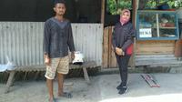 Dewi Hajar Pinuji, seorang Mantri BRI Unit Jatinom, Kantor Cabang Klaten.
