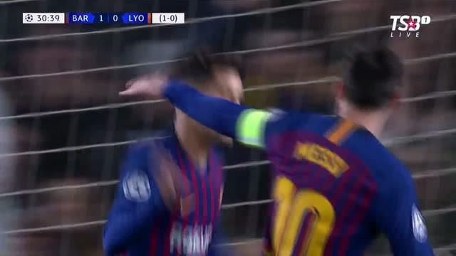 Berita video highlights leg II babak 16 besar Liga Champions 2018-2019 antara Barcelona Vs Lyon di Camp Nou yang berakhir dengan skor 5-1, Kamis (14/3/2019).