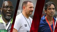 Trivia 3 Pelatih Asing Liga 1 2019 (Bola.com/Adreanus Titus)