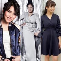 Perbedaan gaya ibu satu anak, Ayu Ting Ting, Nagita Slavina, Chelsea Olivia, Jessica Iskandar dan Sarwendah. (ayutingting92, raffinagita1717, chelseaoliviaa/instagram)